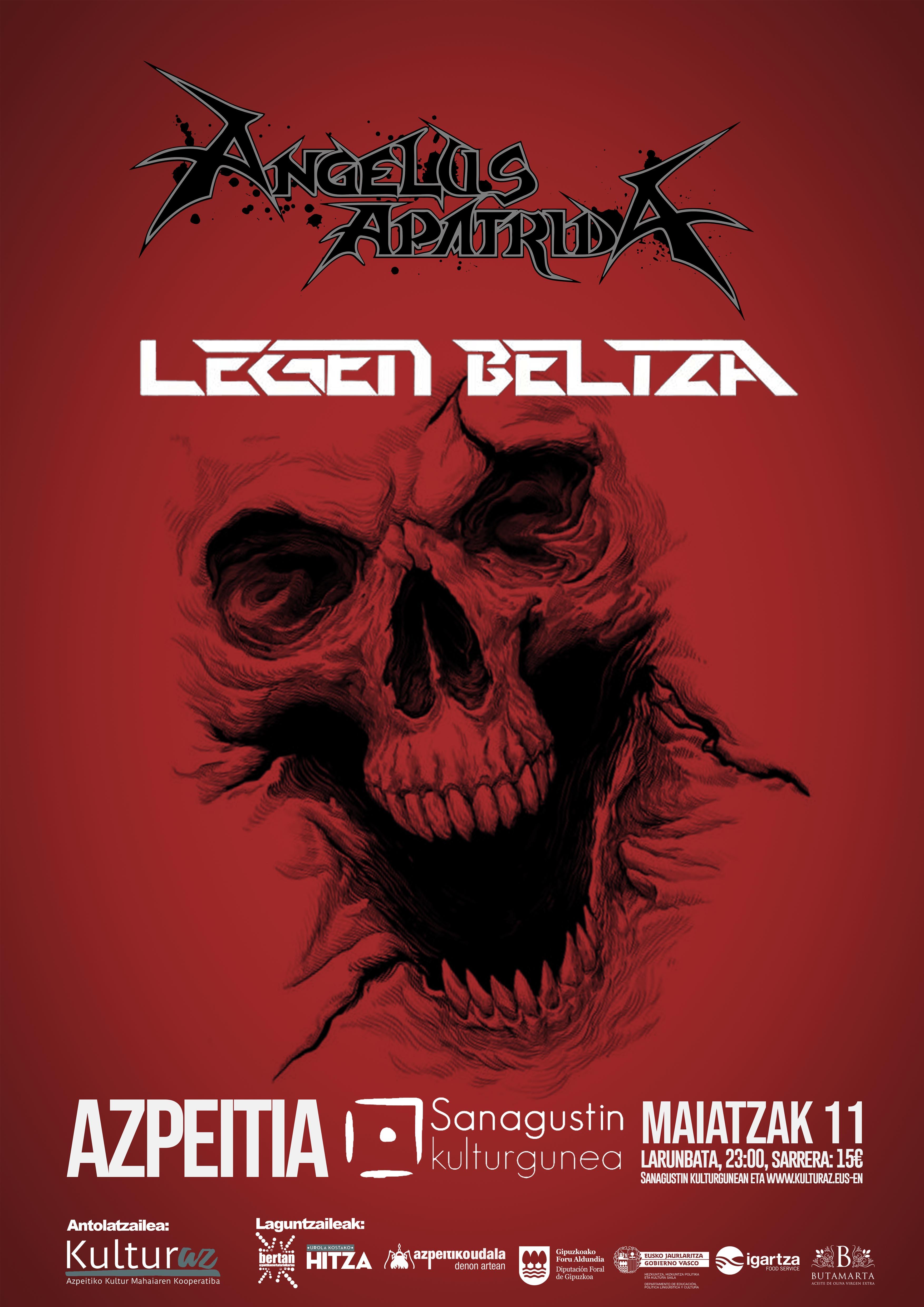 Angelus Apatrida + Legen Beltza