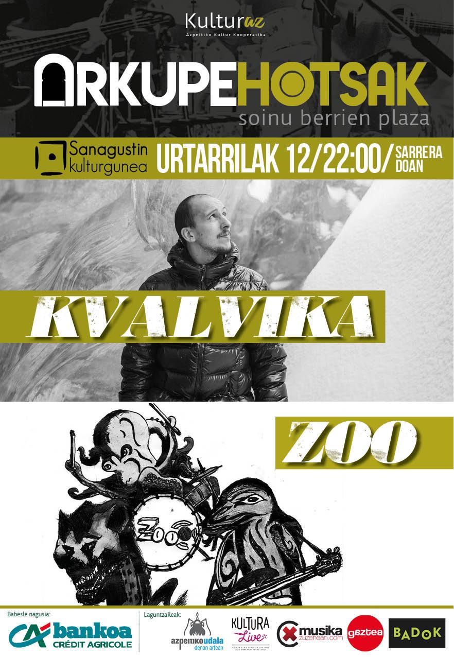 Arkupehotsak: Kvalvika + Zoo