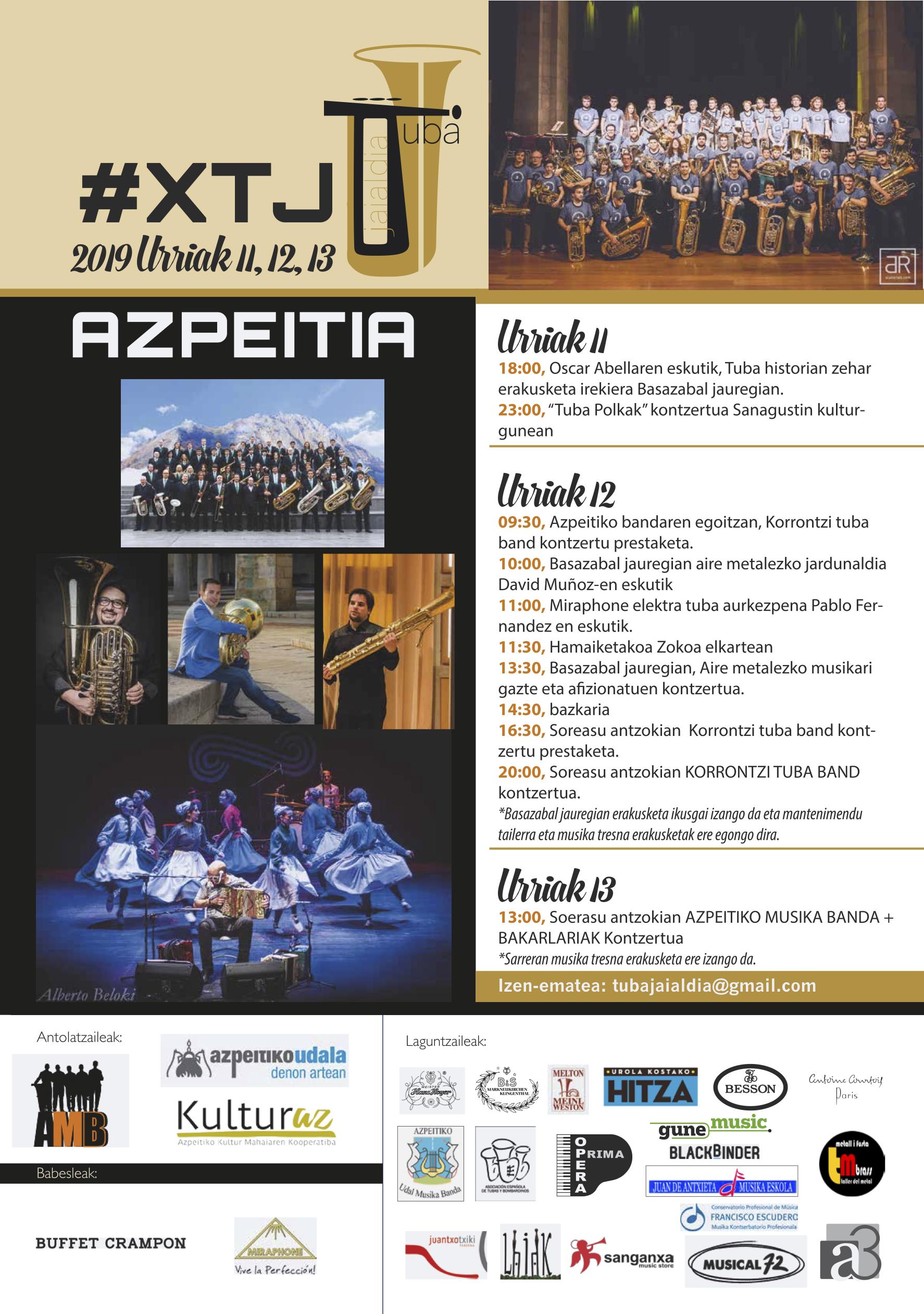 Azpeitiko Udal Musika Banda + Bakarlariak