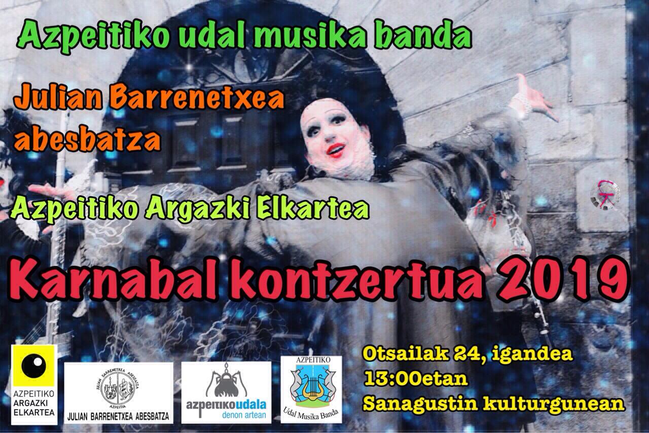 Azpeitiko Udal Musika Banda: Inauterietako Kontzertua