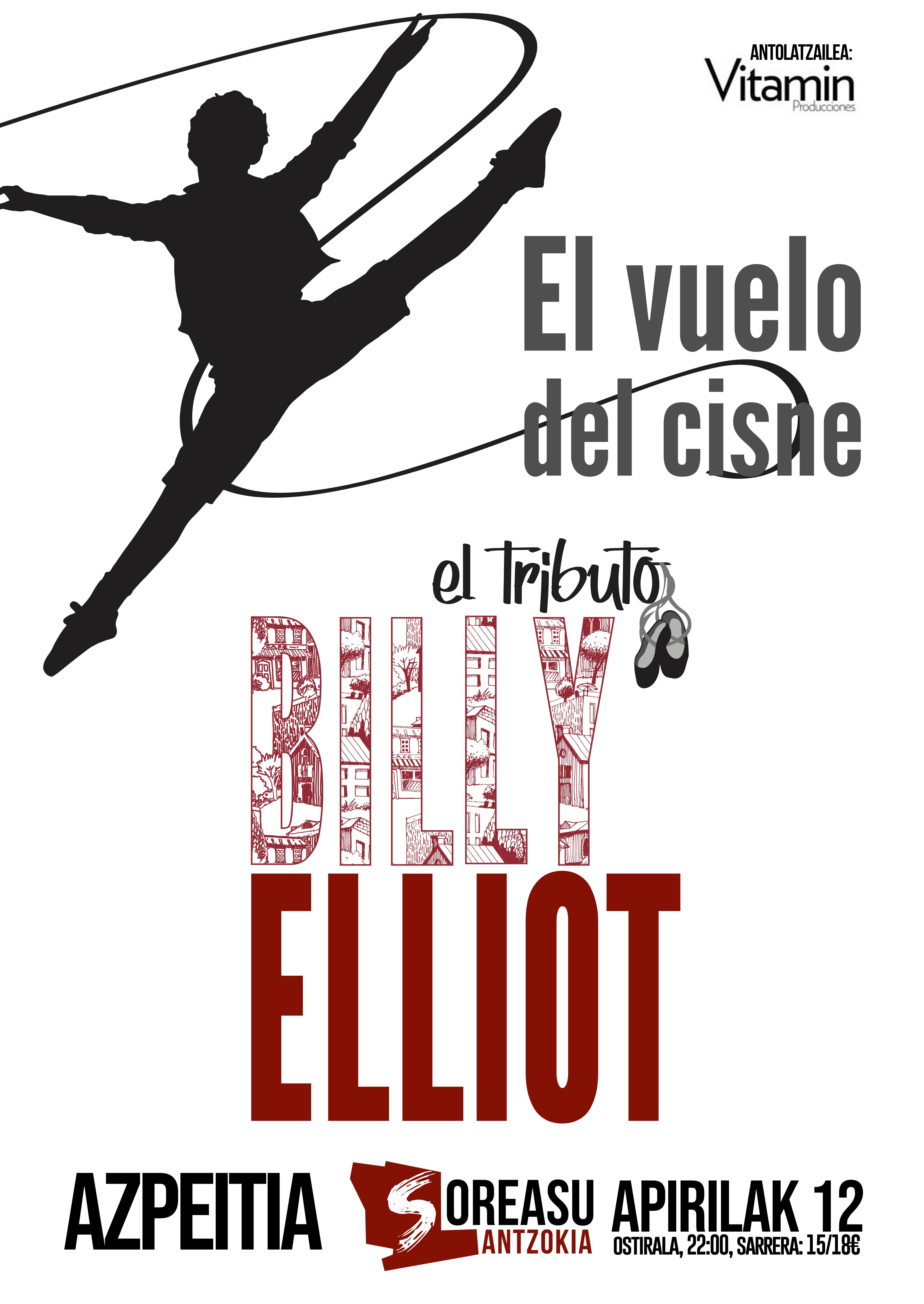 'El vuelo del cisne - Tributo a Billy Elliot'