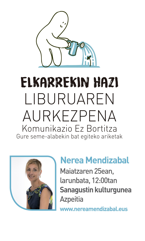 'Elkarrekin hazi' liburuaren aurkezpena