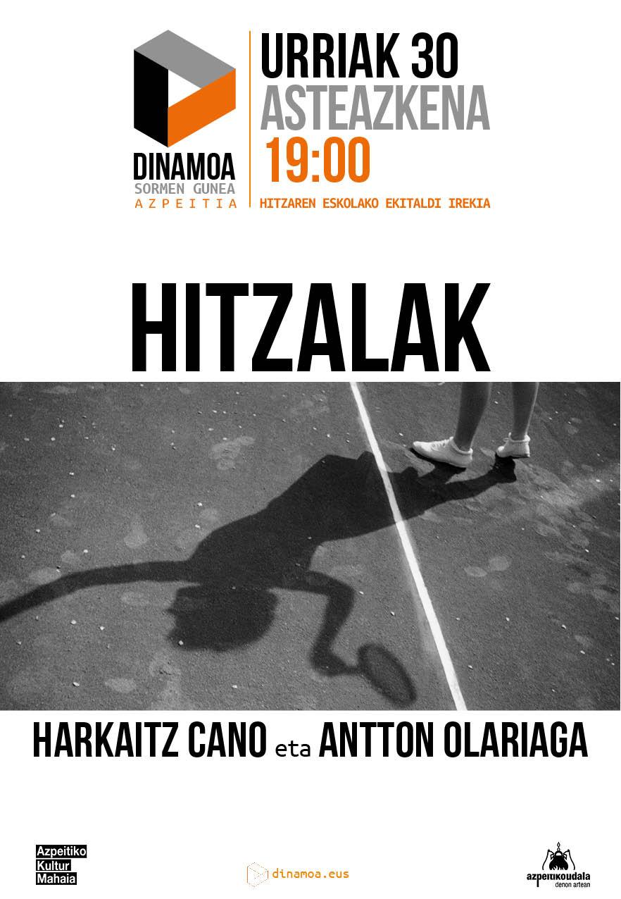 Harkaitz Cano eta Antton Olariaga: Hitzalak