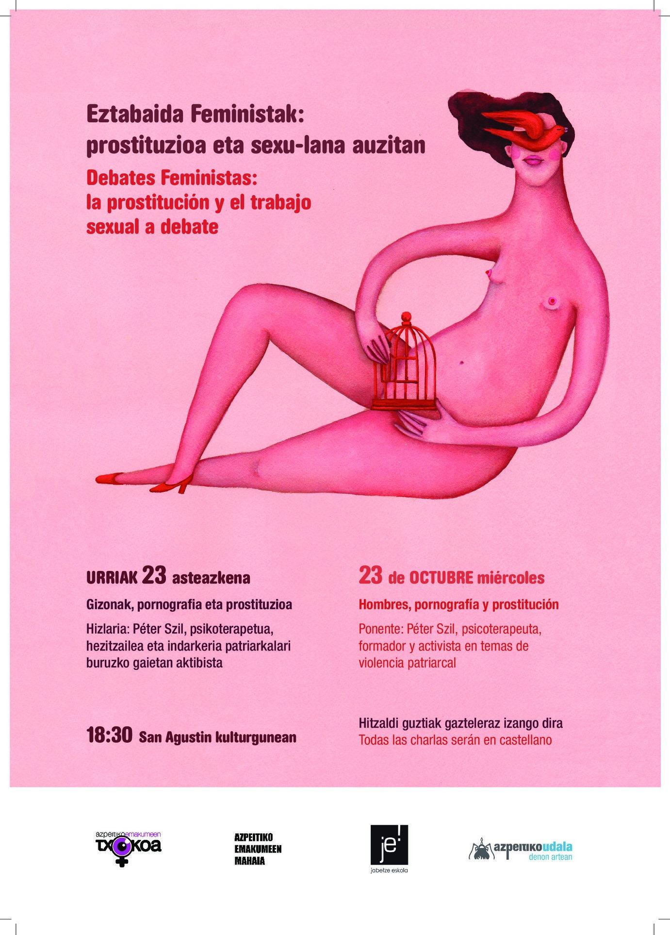 Hitzaldia: Gizonak, pornografia eta prostituzioa