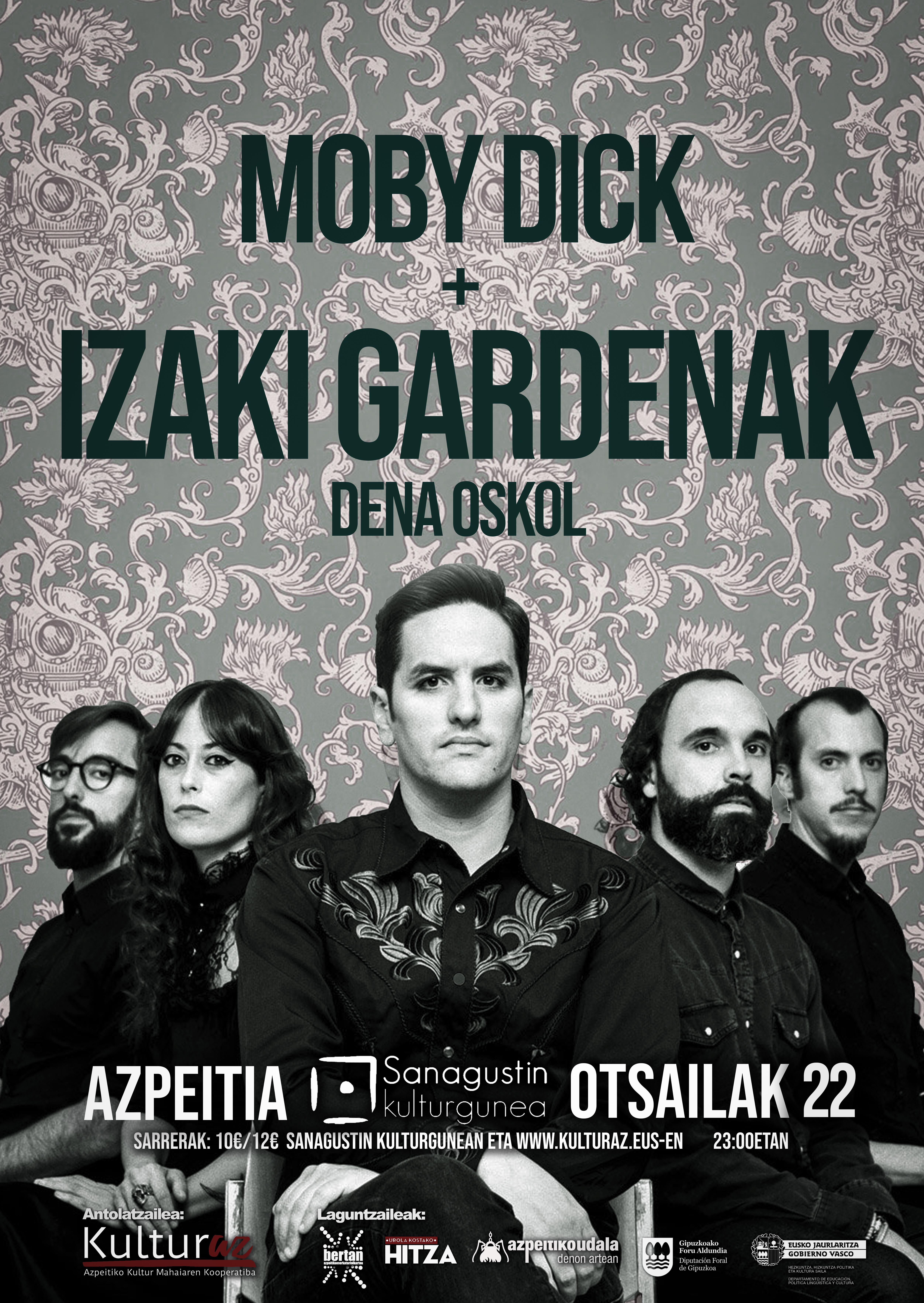 Izaki Gardenak + Moby Dick
