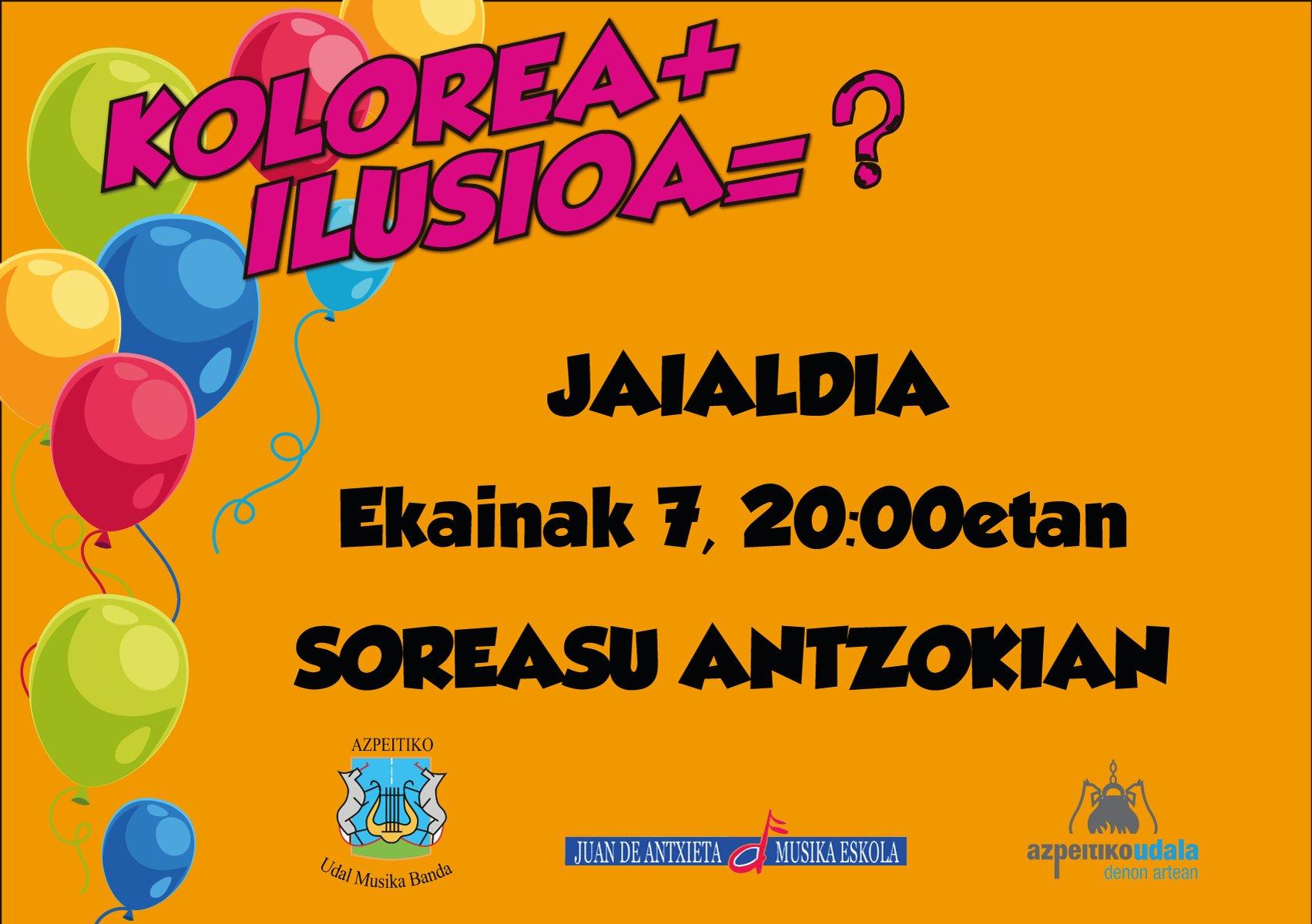 Kolorea+ilusioa=?