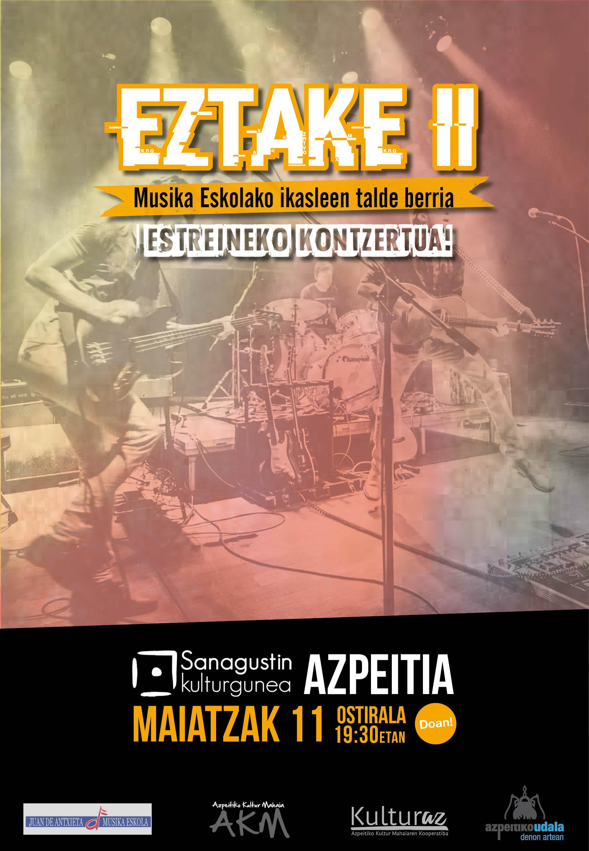 Juan de Antxieta Musika Eskolaren zikloa: gaztetxoen kontzertua