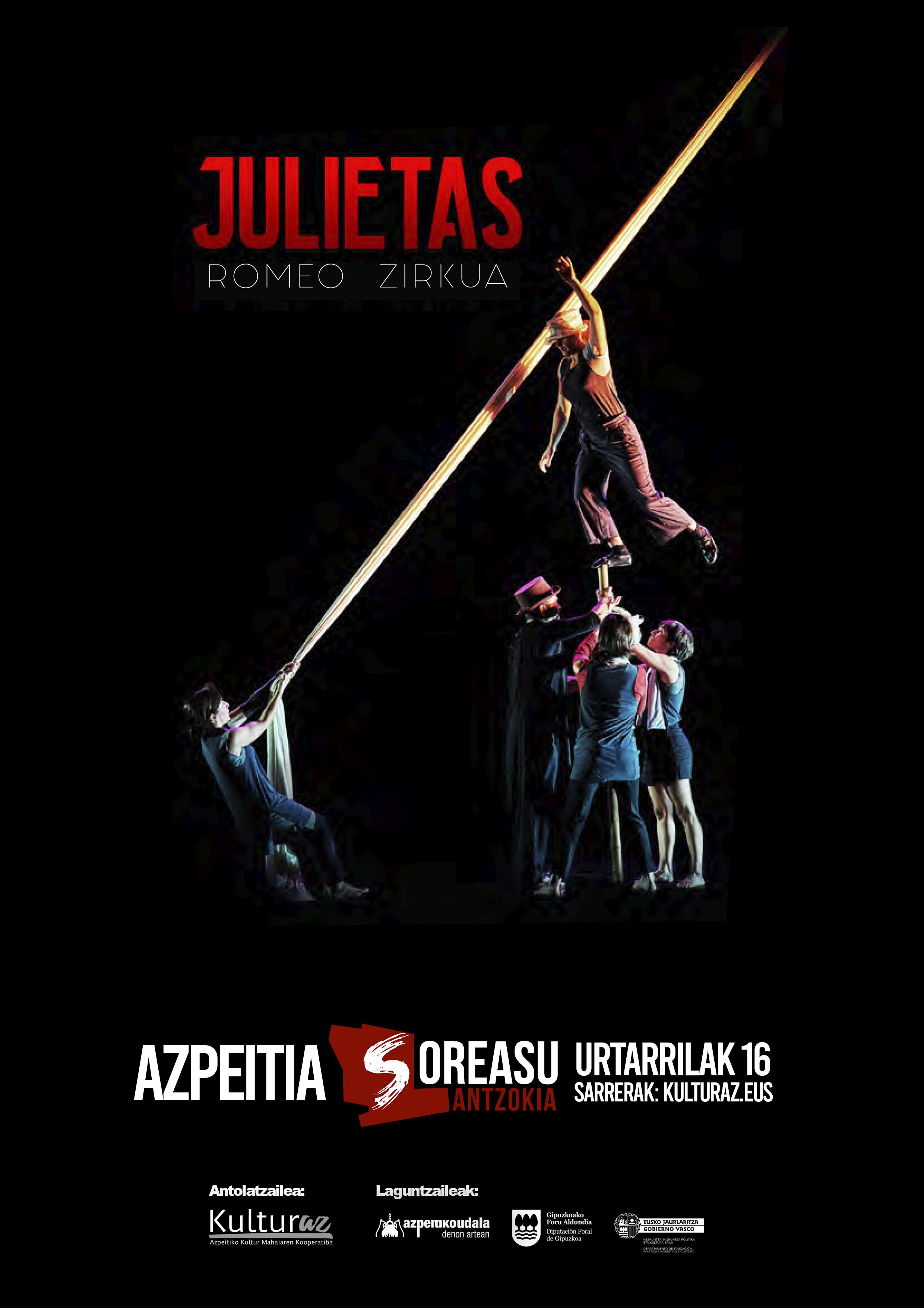 'Julietas. Romeo zirkua'