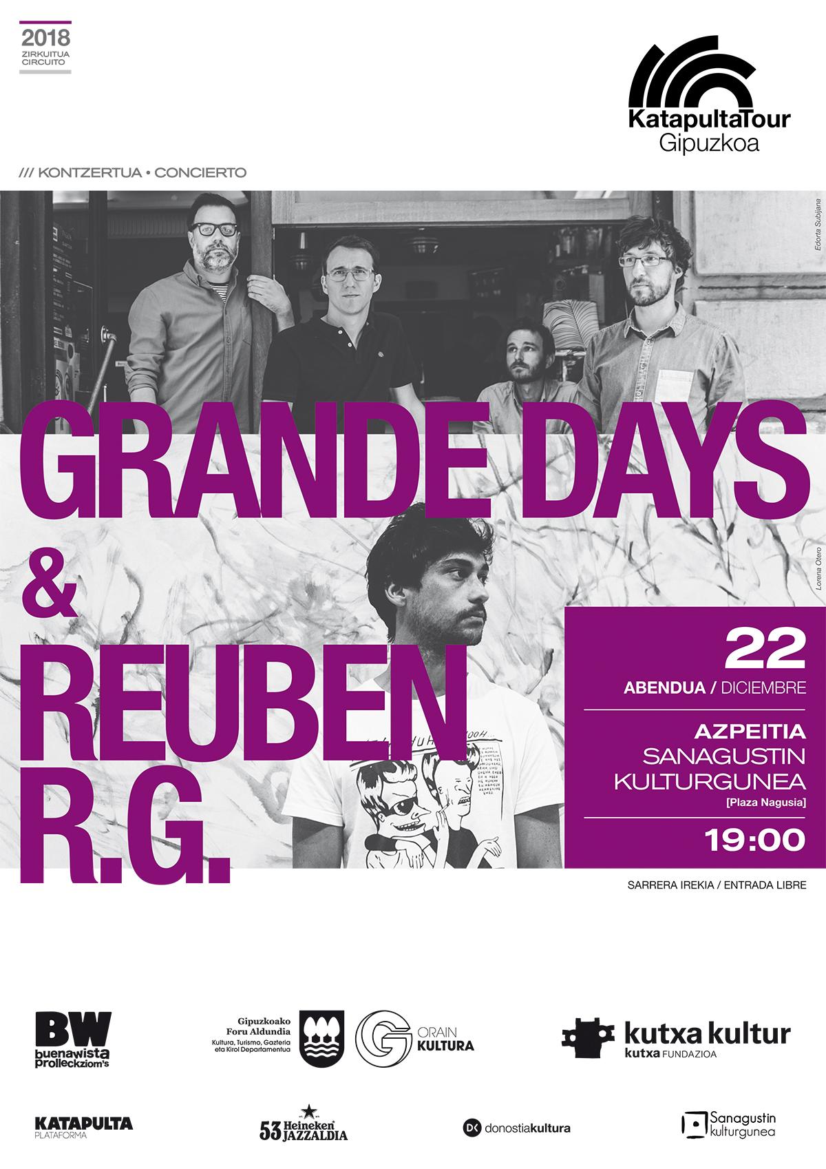 Grande Days + Ruben RG