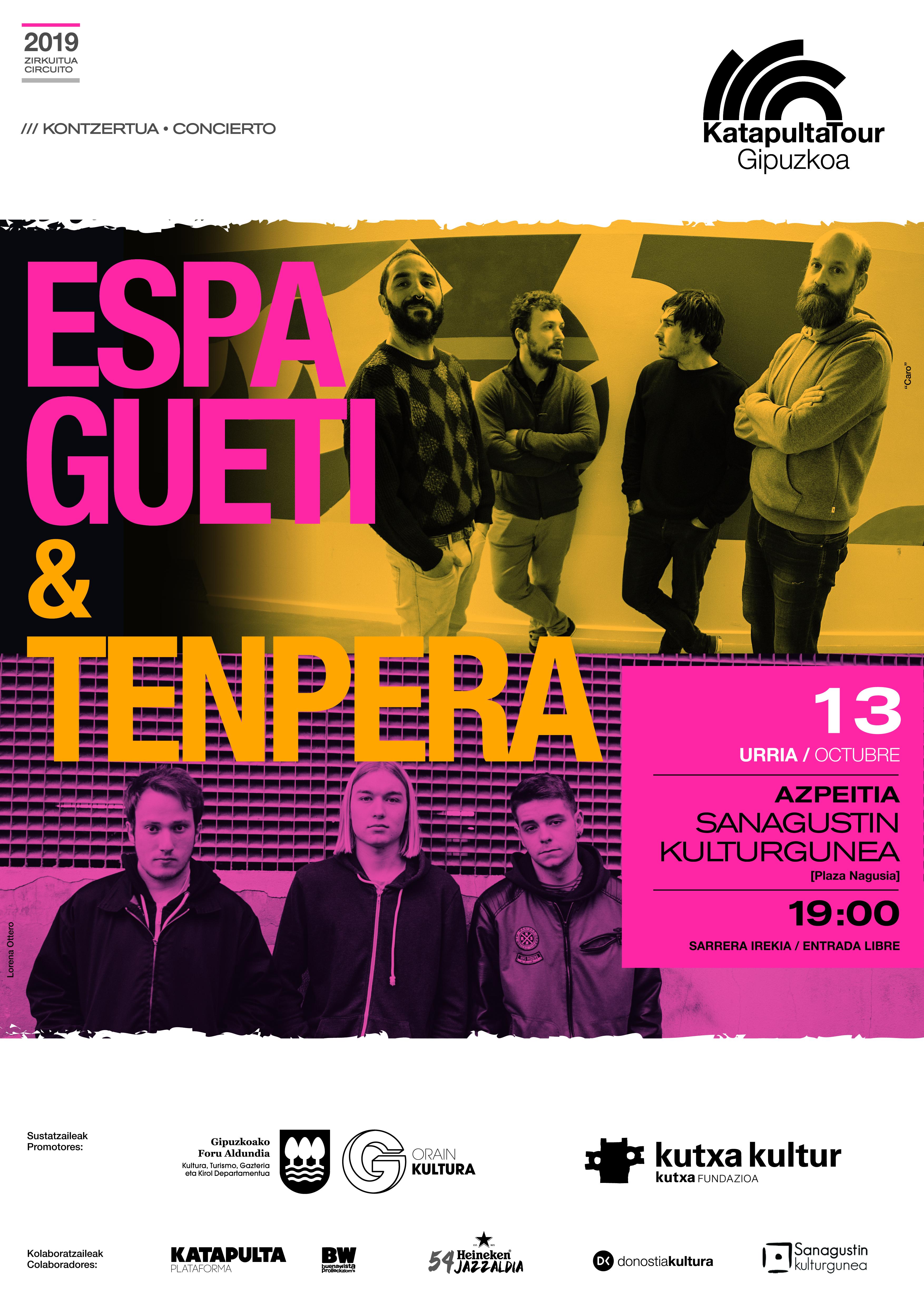 Katapulta Tour Gipuzkoa: Espagueti & Tenpera