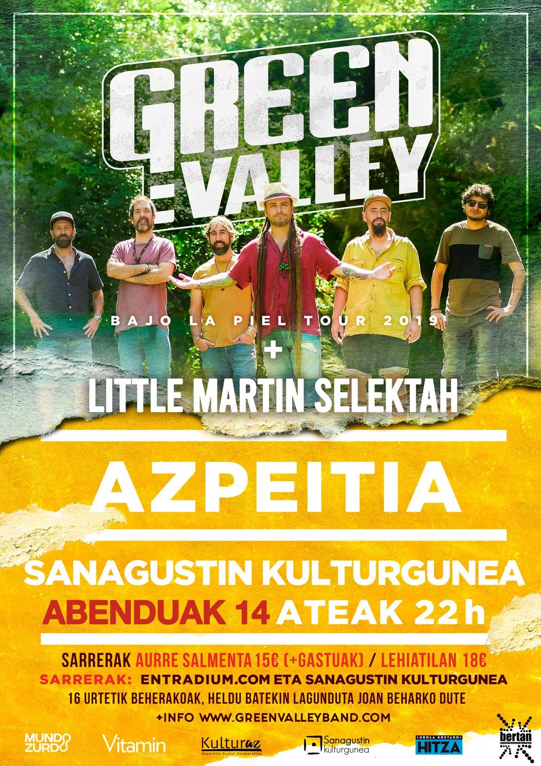 Kontzertua: Green Valley + Little Martin Selektah