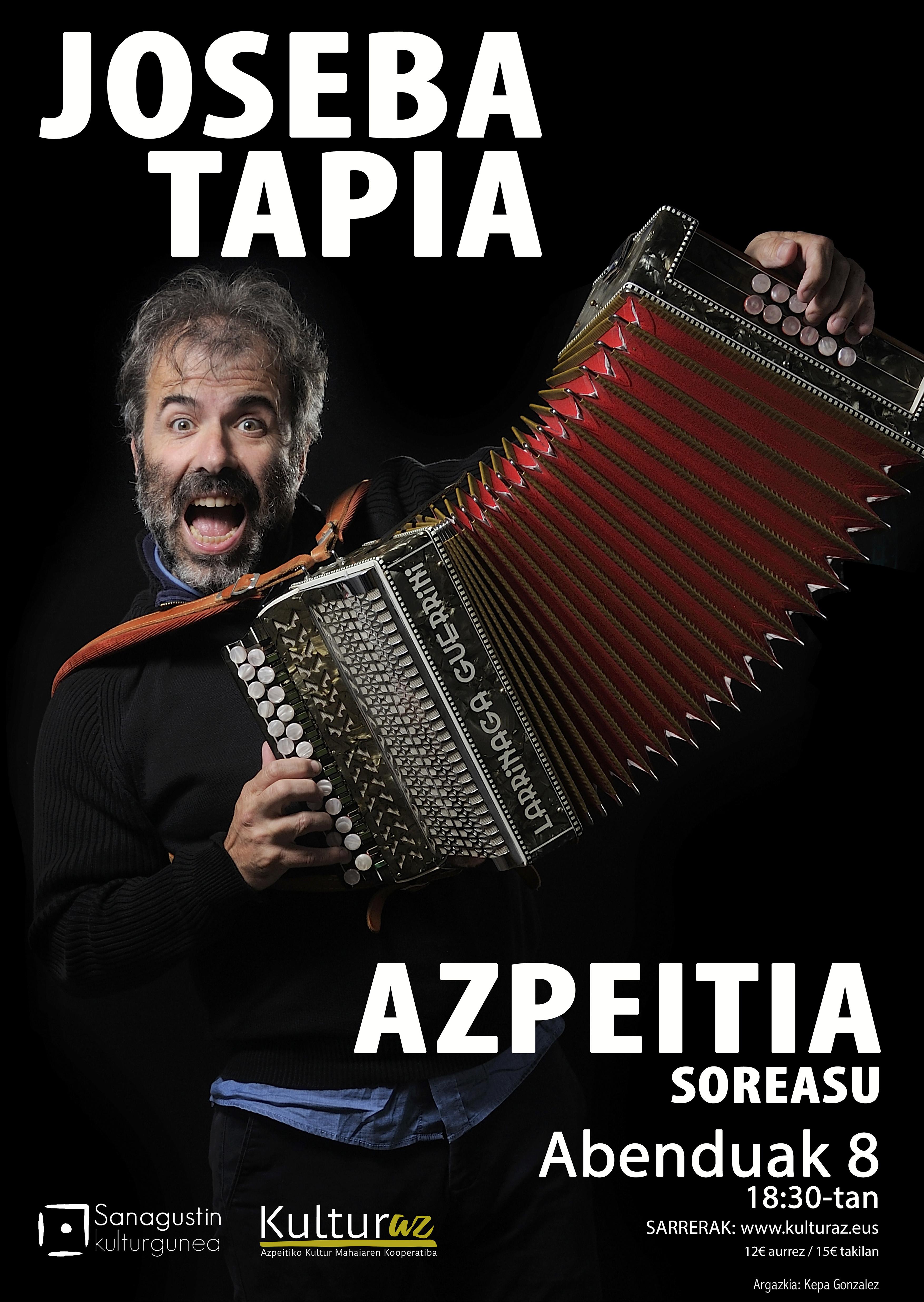 Kontzertua: Joseba Tapia