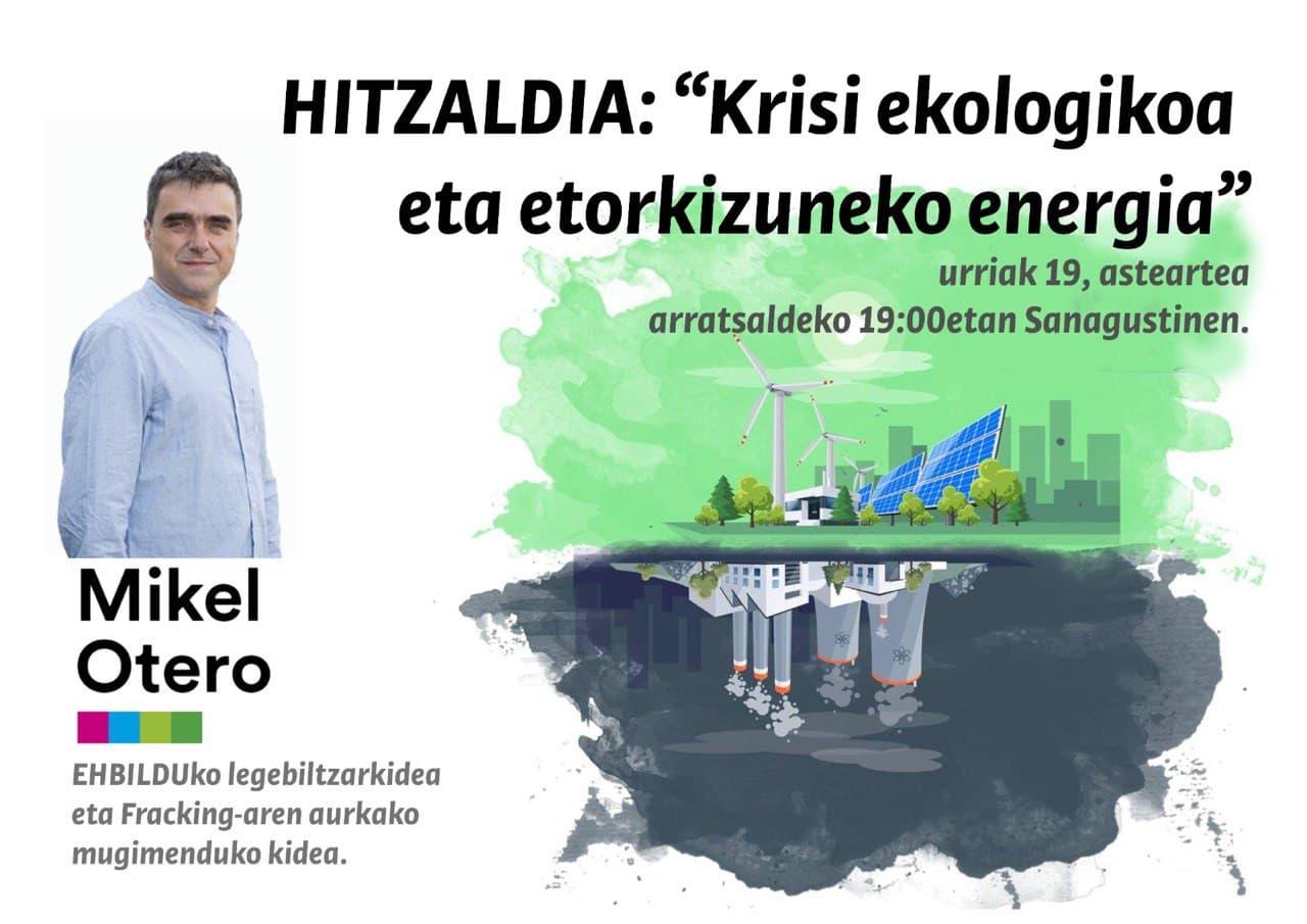 'KRISI EKOLOGIKOA ETA ETORKIZUNEKO ENERGIA'