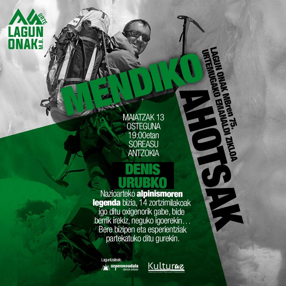 MENDIKO AHOTSAK (Denis Urubko)