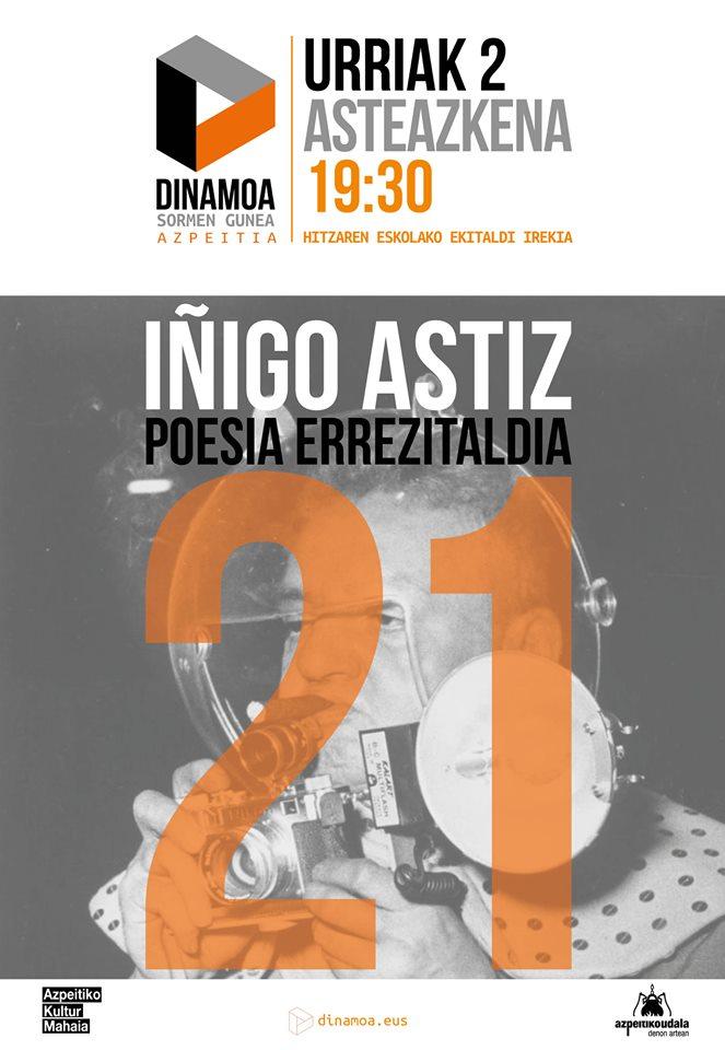 Poesia Errezitaldia: Iñigo Astiz