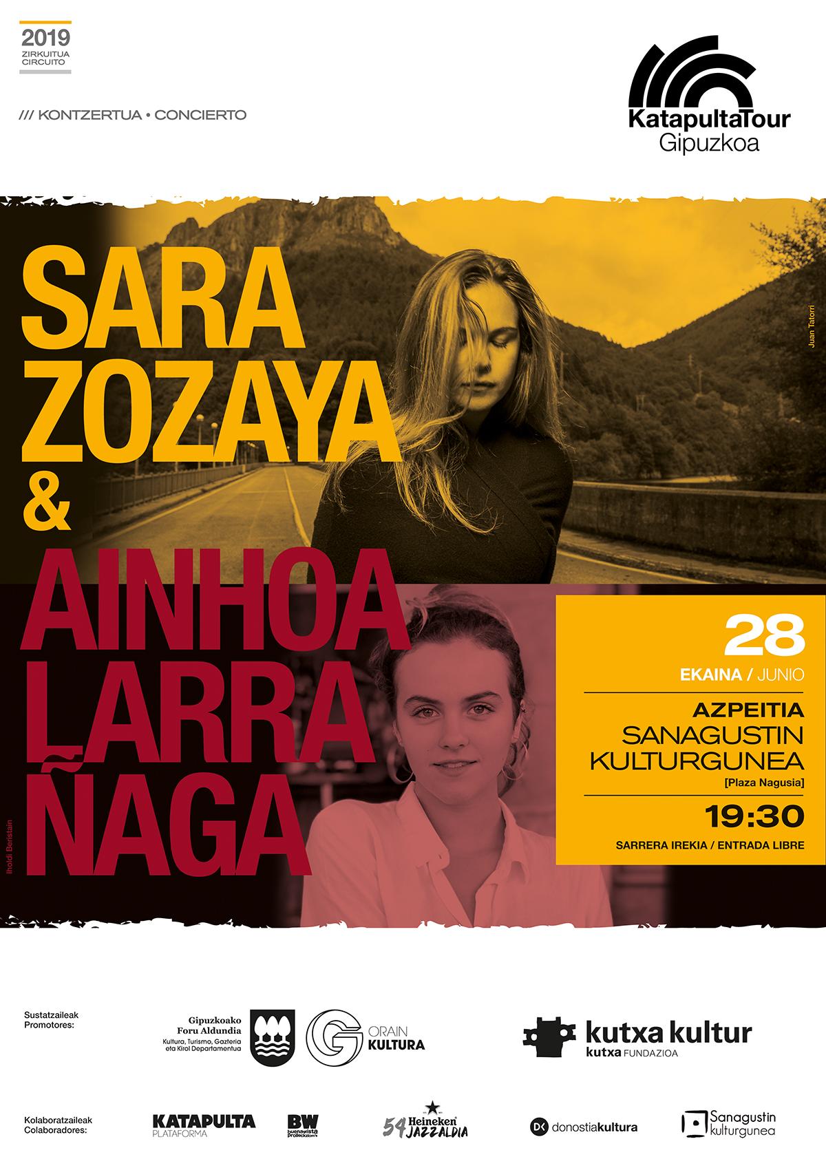 Sara Zozaya + Ainhoa Larrañaga