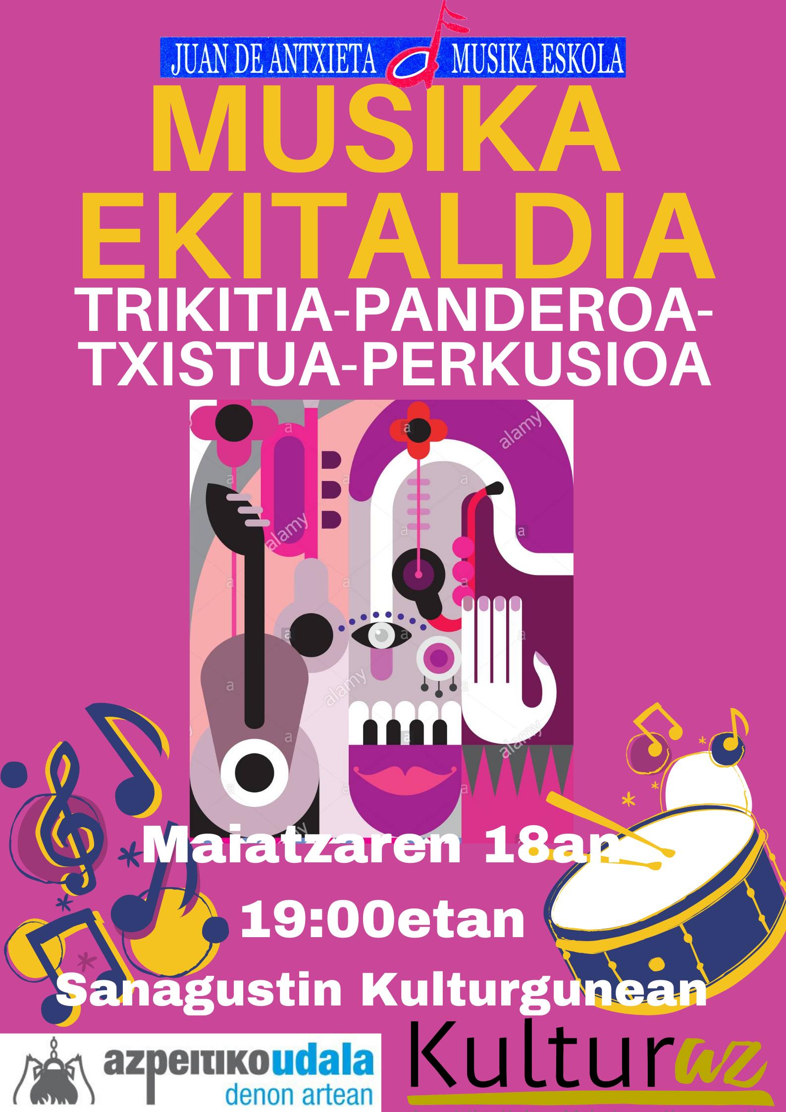 TRIKITIA - PANDEROA - TXISTUA - PERKUSIOA