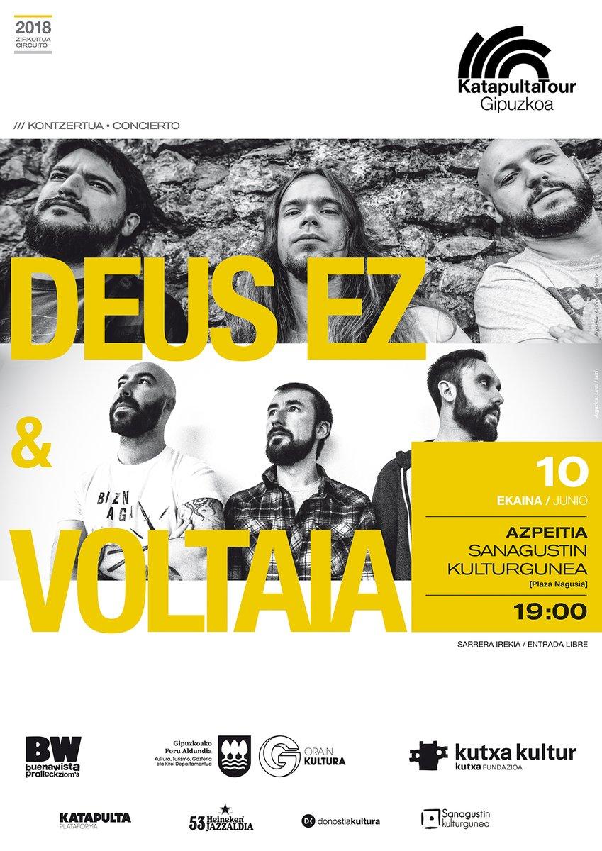 Voltaia + Deus Ez