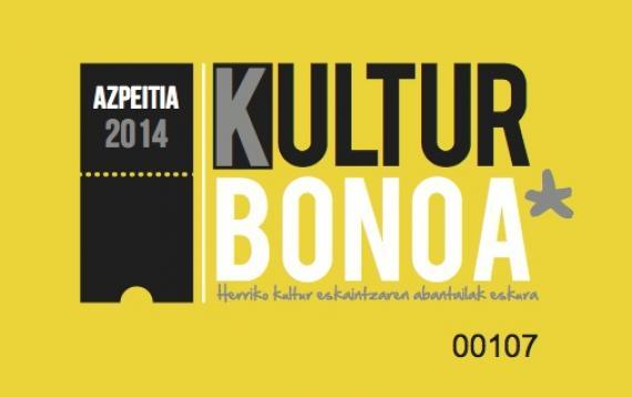 2014ko kultur bonoa prest