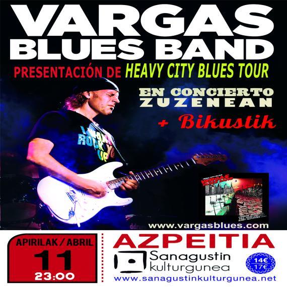 Vargas Blues Band Sanagustin kulturgunean