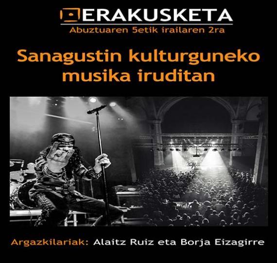 Sanagustin kulturguneko musika iruditan