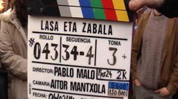 Gaur Pablo Malo zuzendaria zuzenean 'Lasa eta Zabala' filmaren azken saioan