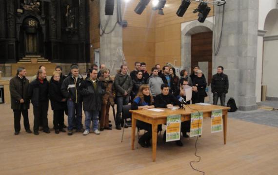 Herriko taldeen parte-hartzearekin irekiko dute Sanagustin kulturgunea