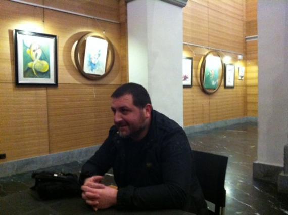 """Hamlet Sargsyan: """"Nire estiloa 180ºkoa da eta ez dut uste beste inork halakorik egiten duenik"""""""