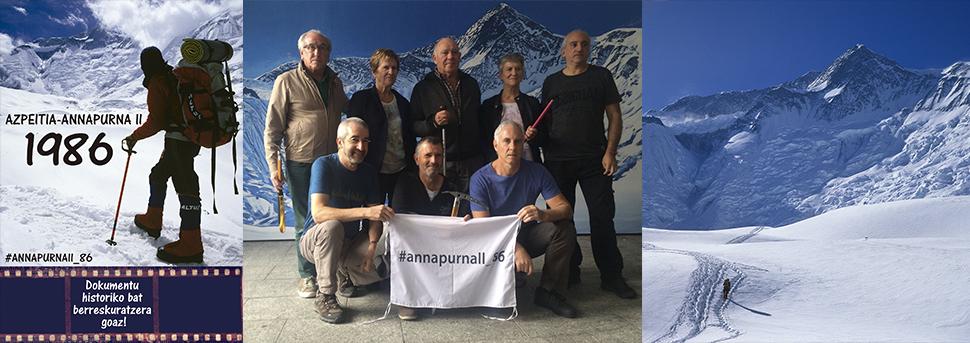 AnnapurnaII_86 proiektua amaiatzen