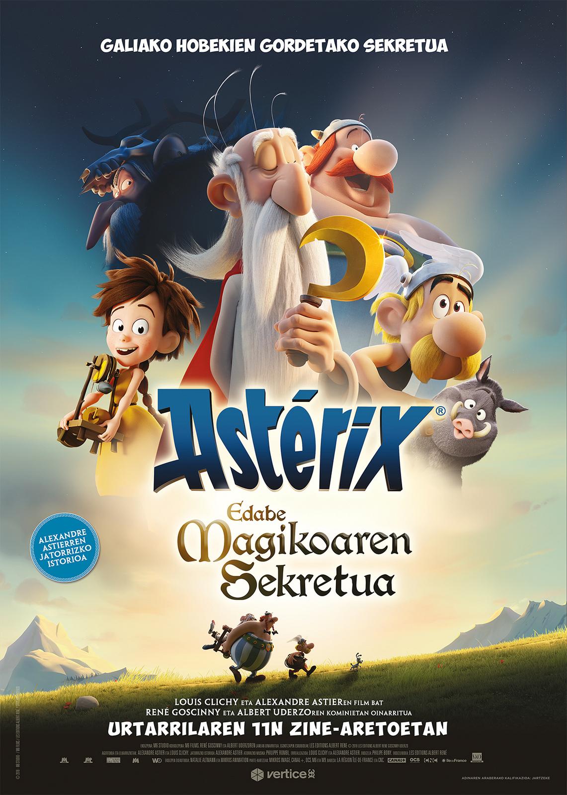 Asterix: Edabe magikoaren sekretua