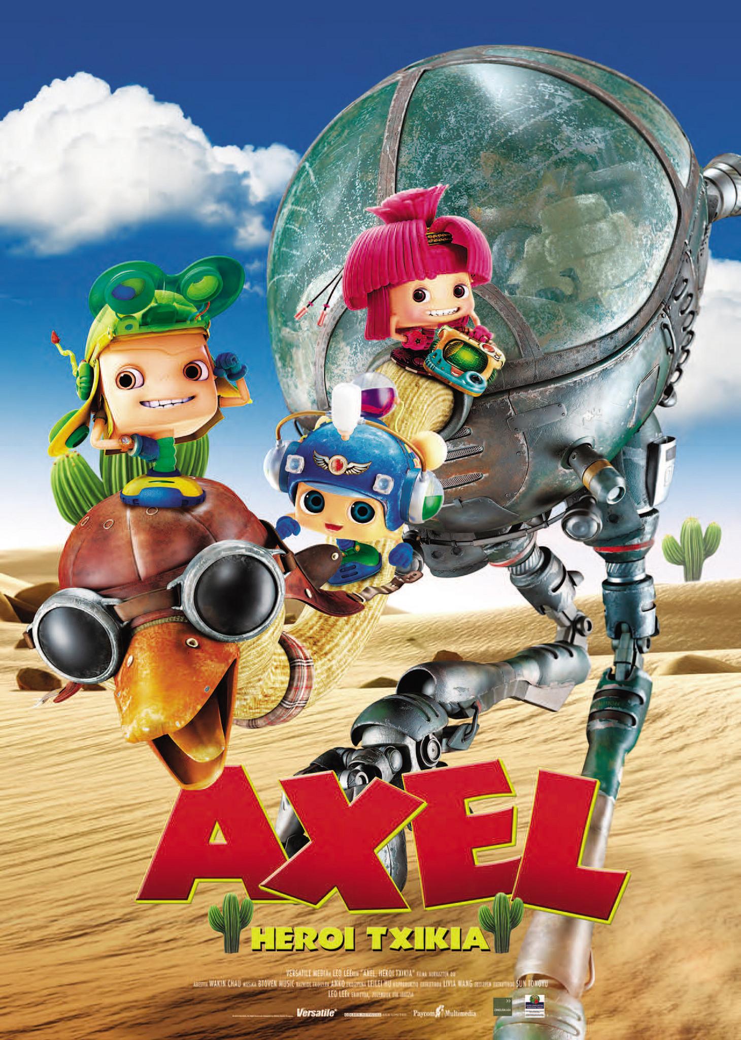 Axel heroi txikia
