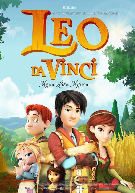 Leo da Vinci: Mona Lisa misioa