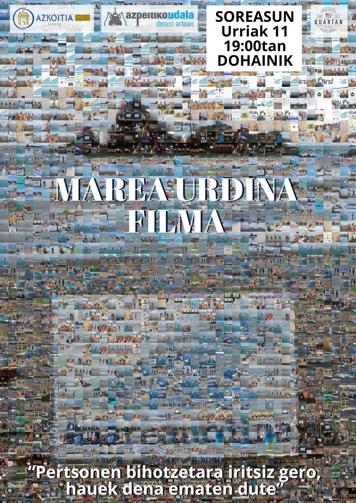 Marea Urdina-ren filma