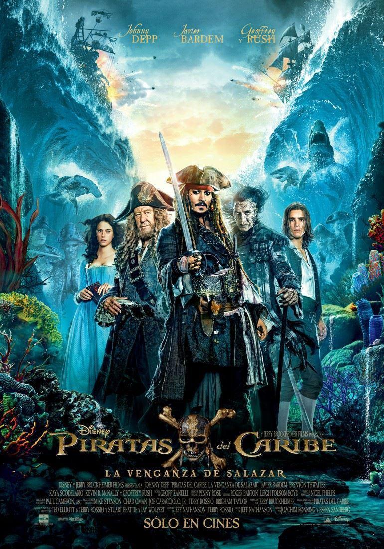 Piratas del Caribe: La venganza de Salazar