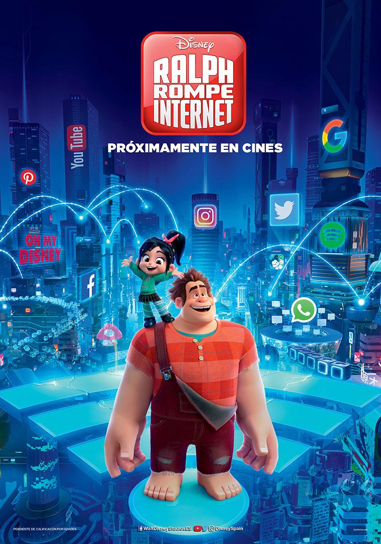 'Ralph rompe internet'